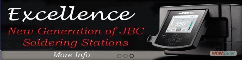 JBC Tools Excellence Stations, soldering, desoldering, smd rework, smt rework, preheaters
