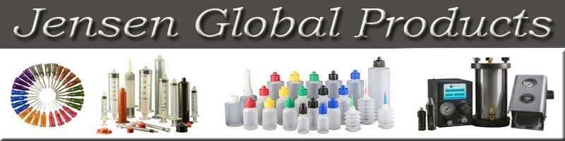 Jensen Global Industrial Needles, syringes, specialty needles, squeeze bottles, manual dispensers, air dispensers