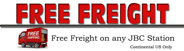 Free Freight on any JBC Tools Stations