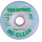 TechSpray 1816-5F No-Clean Desoldering Braid / Solder Wick