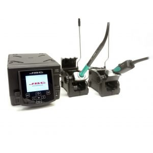 JBC Tools DDETP dual soldering station and hot micro tweezers