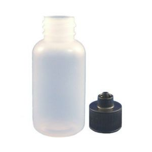 Jensen Global JG1.0BC-18-0.5 Boston Round Bottles with caps and needles