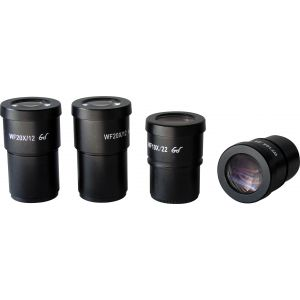 HEI-EP-W10  SZ302101 HEI Scope Series Wide Field 10x Eyepieces (Pair) with Eyecups {Eyepieces Housing of 30mm diameter}.