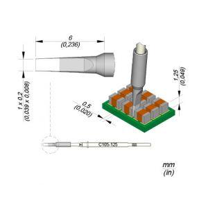 JBC Tools C105125 Chisel Nano Tip