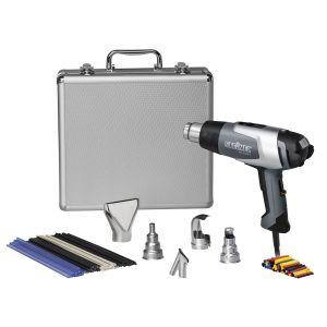110051541 Steinel Silver Anniversary Heat Gun Kit with a HL 2020 E Heat Gun