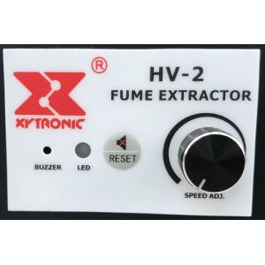 Xytronic HV-2 Fume extractor front pannel