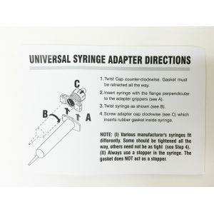 Kahnetics Syringe Adapter Instructions