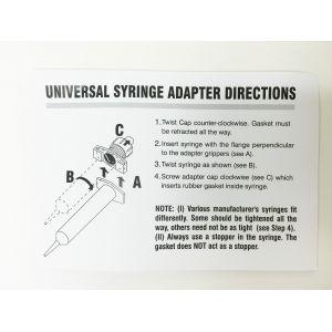 Kahnetics Syringe Adapter Instructions
