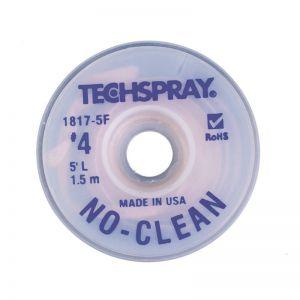TechSpray 1817-5F No-Clean Desoldering Braid / Solder Wick